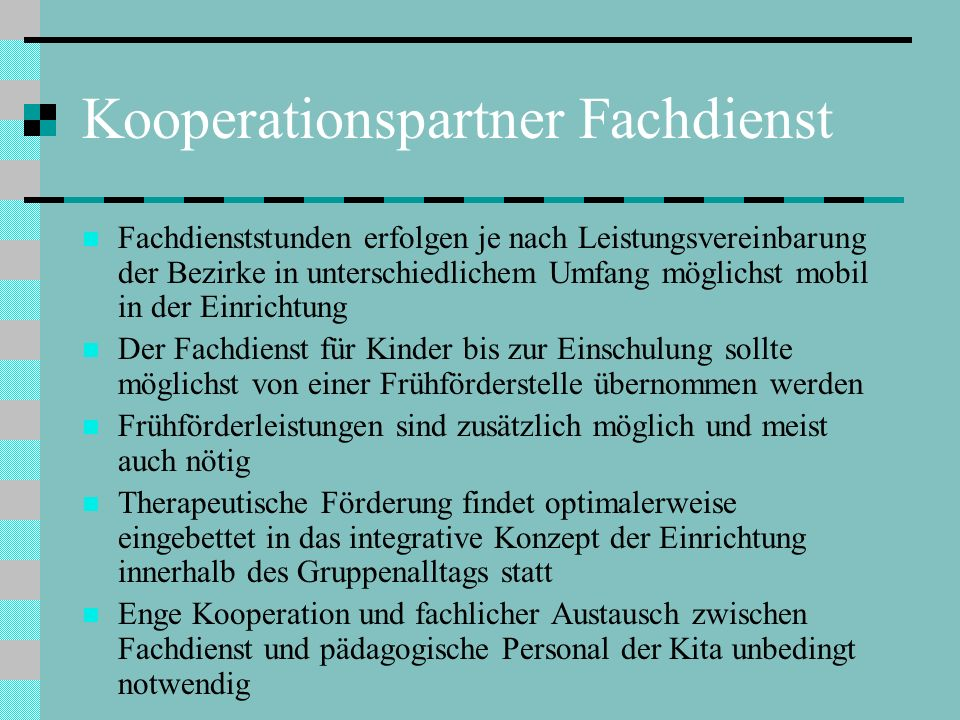 Kooperationspartner Fachdienst