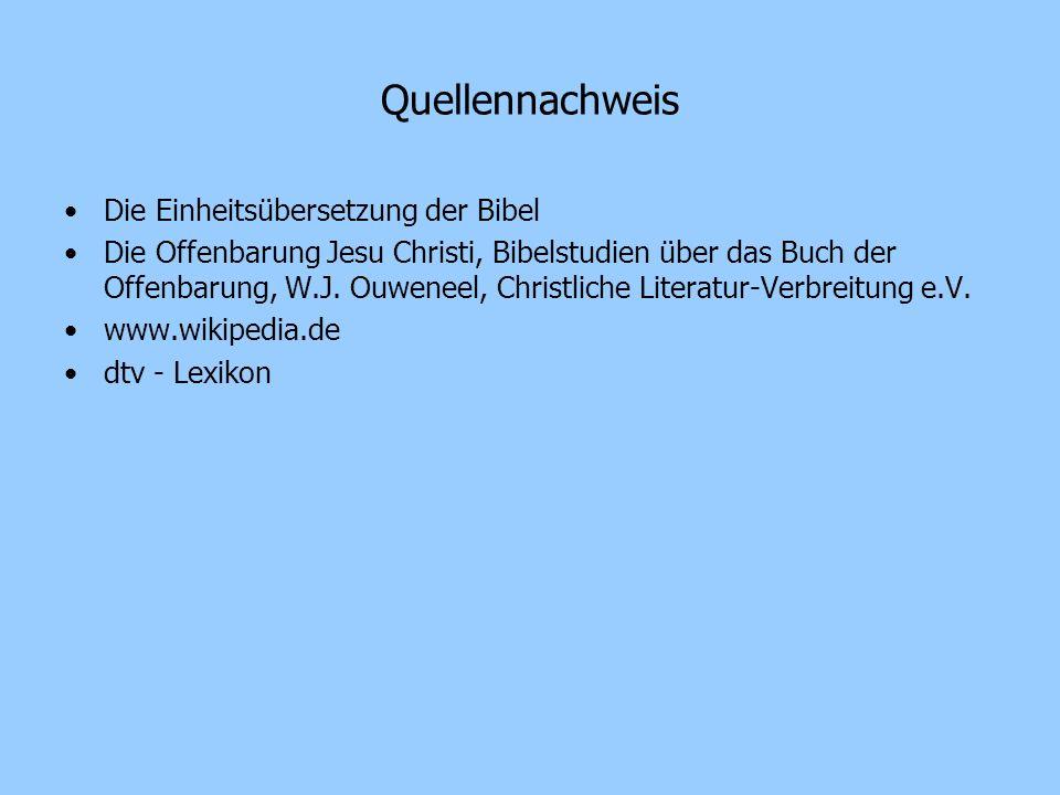 Quellennachweis Die Einheitsübersetzung der Bibel