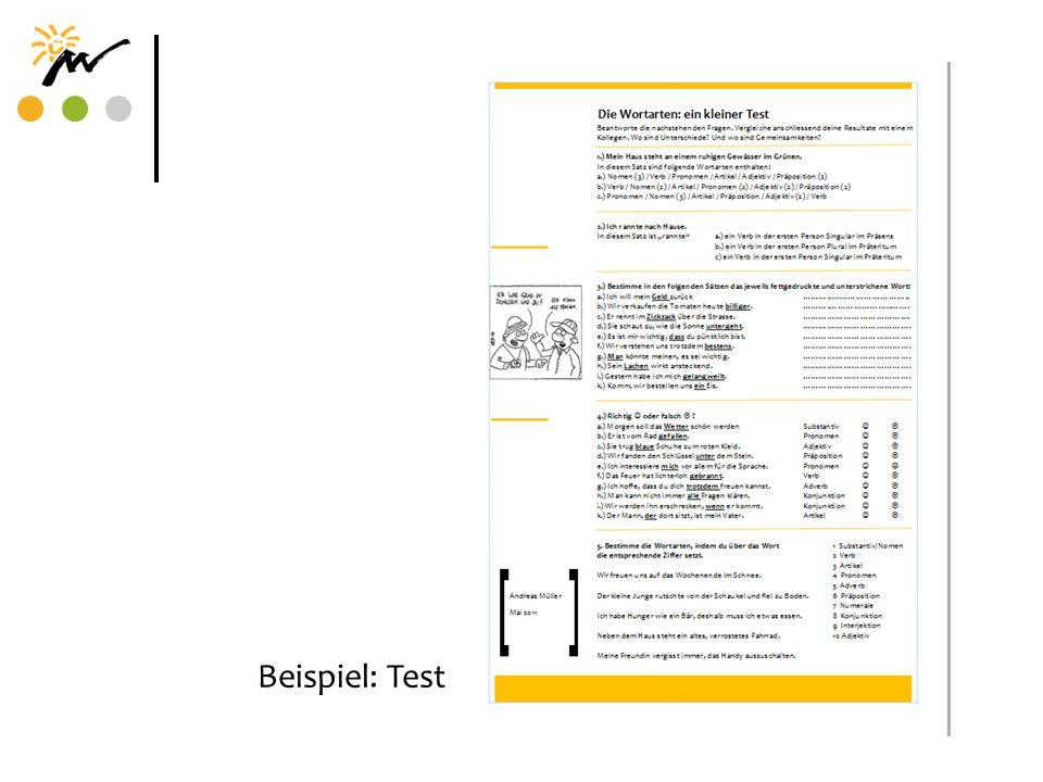 Beispiel: Test