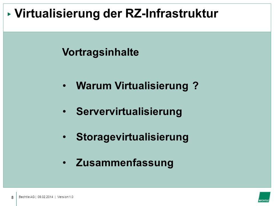 Virtualisierung der RZ-Infrastruktur