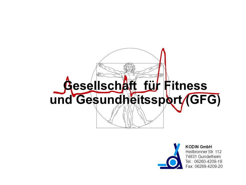 KODIN GmbH Heilbronner Str. 112 74831 Gundelheim Tel