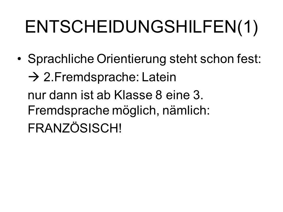 ENTSCHEIDUNGSHILFEN(1)