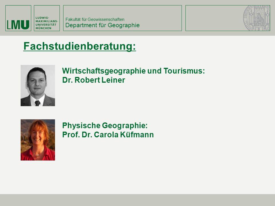 Department für Geographie
