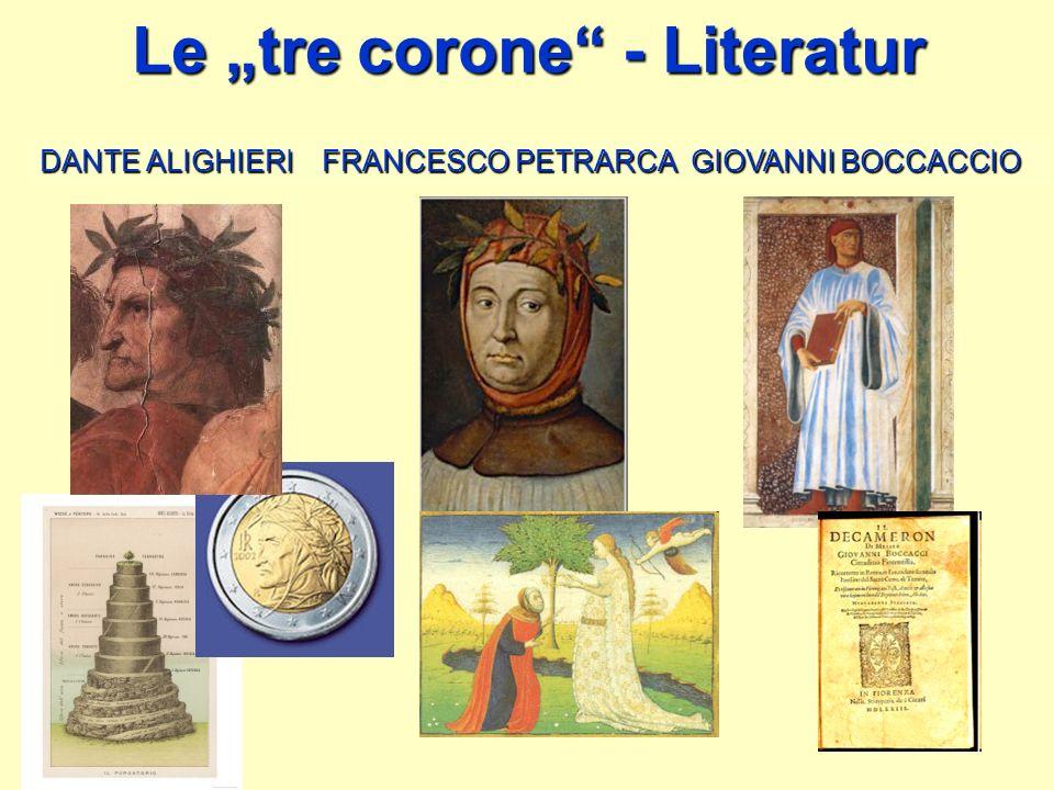 """Le """"tre corone - Literatur"""