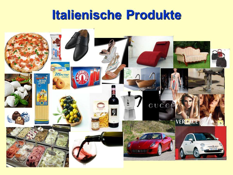 Italienische Produkte