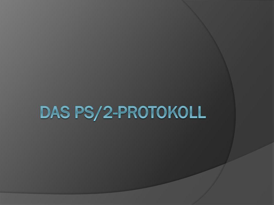 Das PS/2-Protokoll