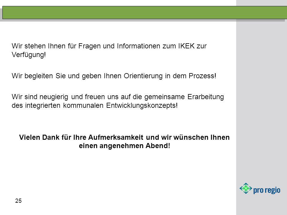Wir stehen Ihnen für Fragen und Informationen zum IKEK zur Verfügung!