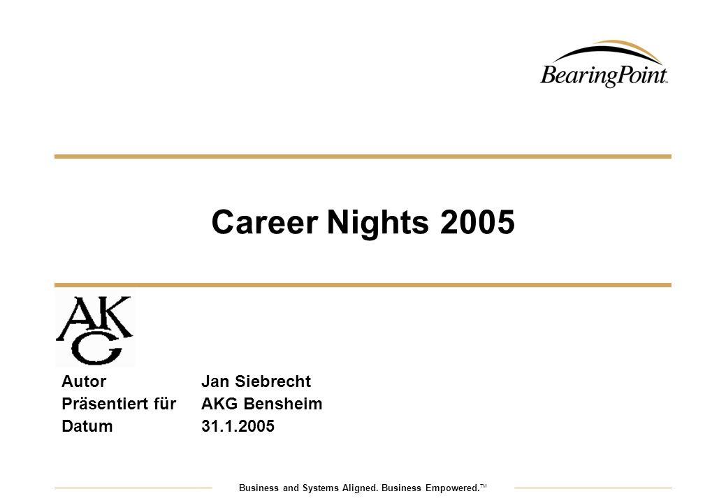 Autor Jan Siebrecht Präsentiert für AKG Bensheim Datum 31.1.2005