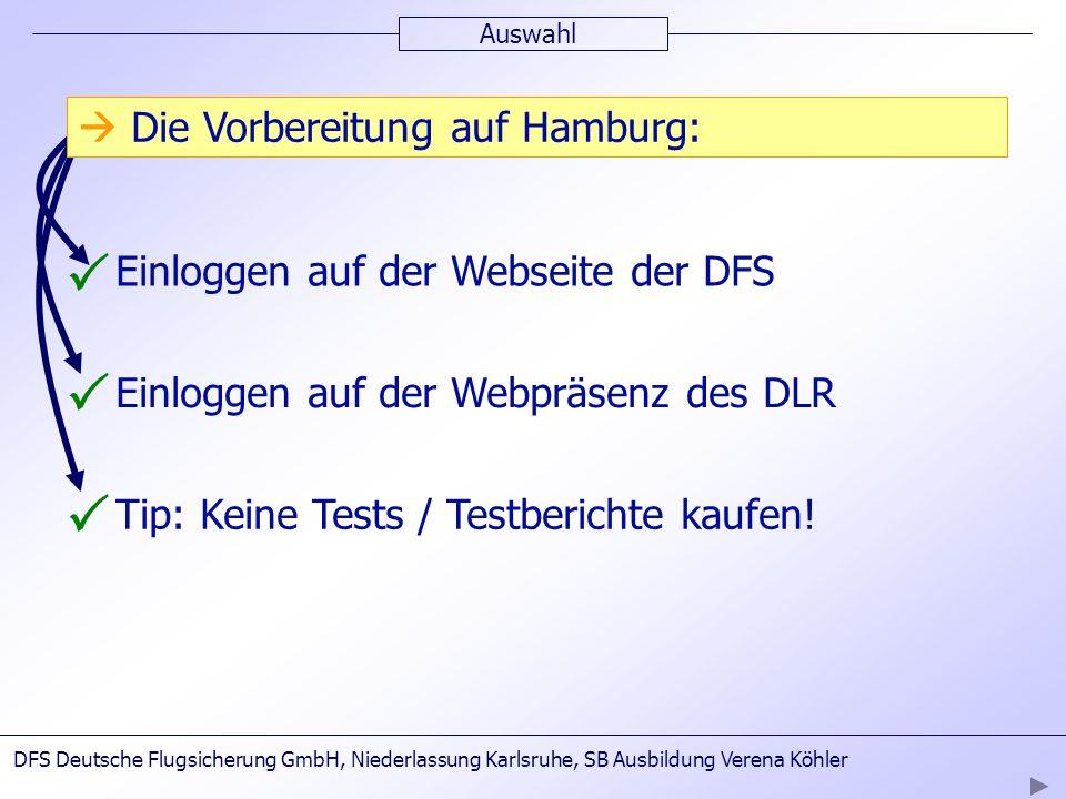 P P P  Die Vorbereitung auf Hamburg: