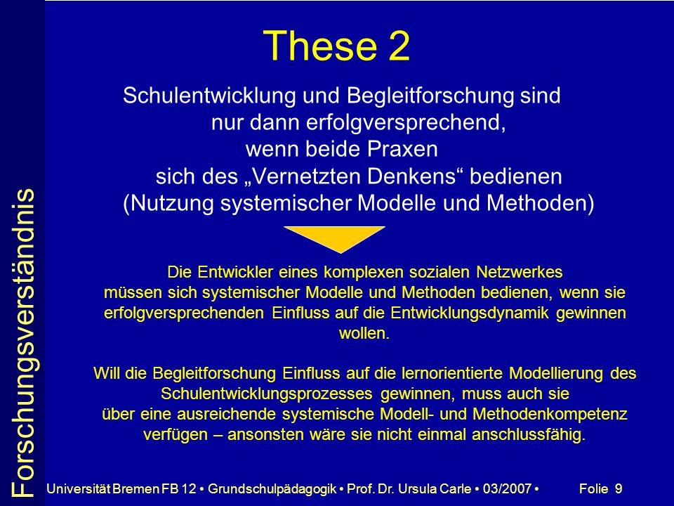 These 2 Forschungsverständnis