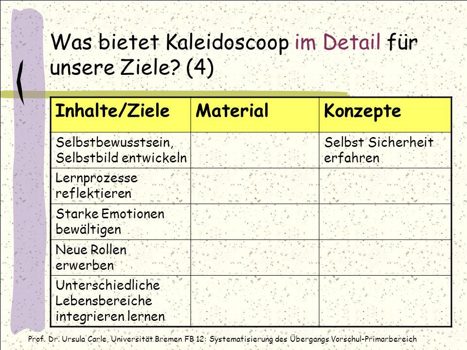 Was bietet Kaleidoscoop im Detail für unsere Ziele (4)