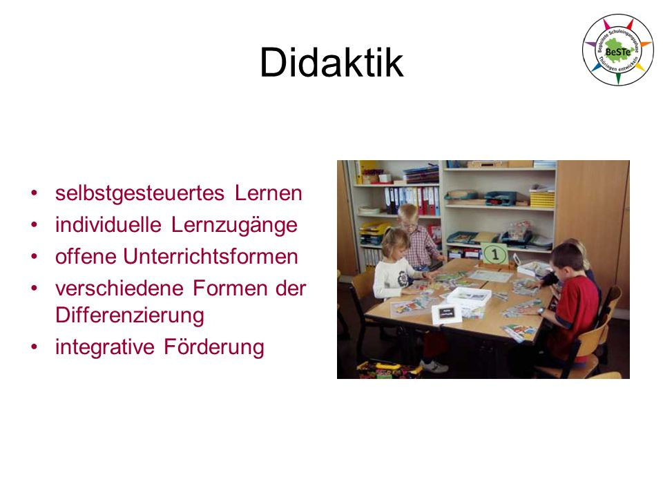 Didaktik selbstgesteuertes Lernen individuelle Lernzugänge