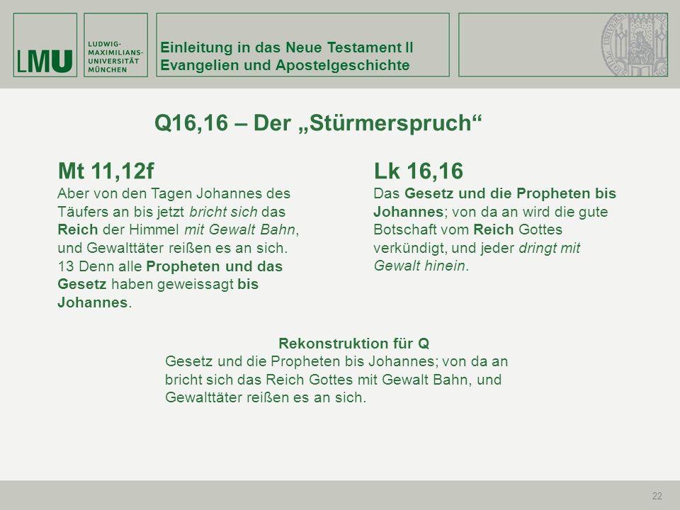 """Q16,16 – Der """"Stürmerspruch"""
