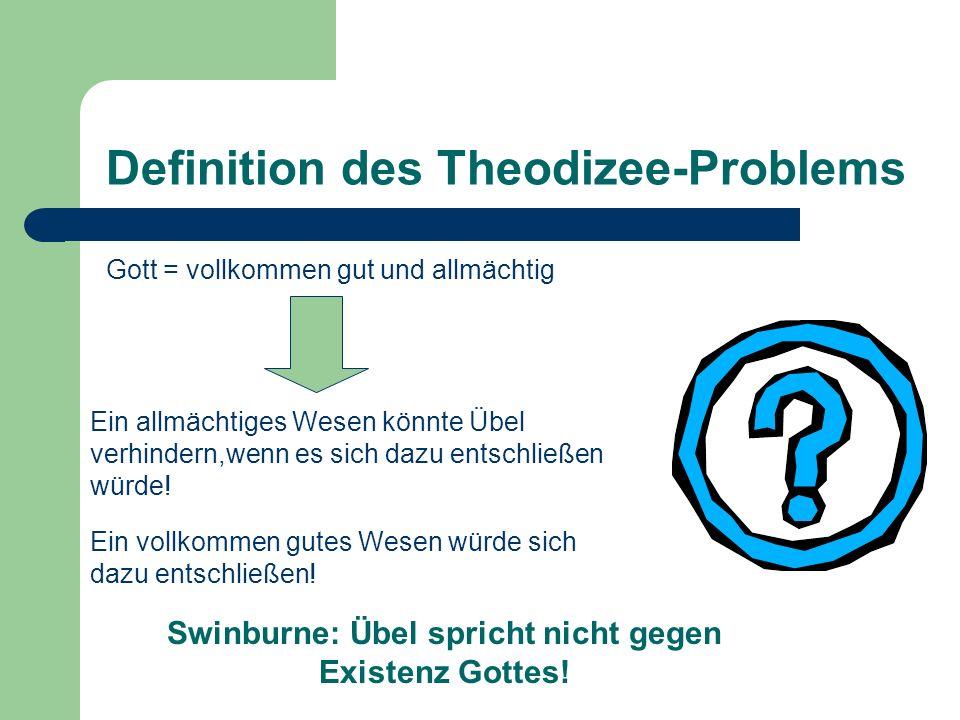 Definition des Theodizee-Problems