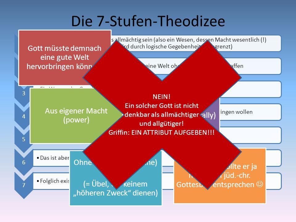 Die 7-Stufen-Theodizee