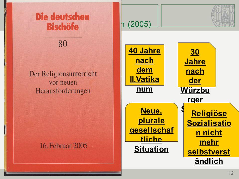 Der RU vor neuen Herausforderungen (2005)