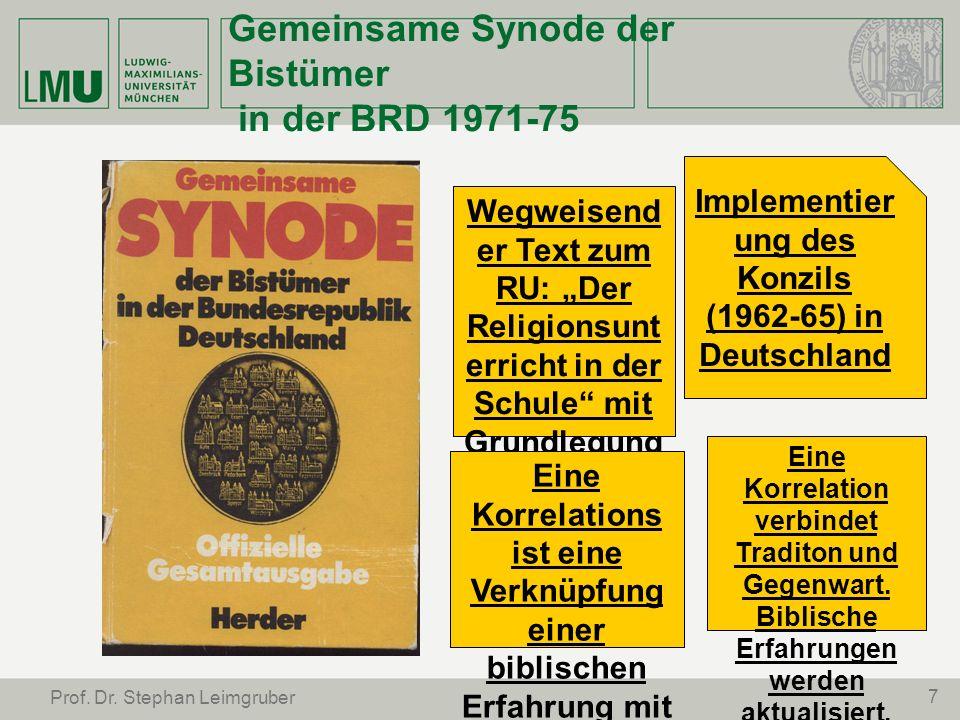 Gemeinsame Synode der Bistümer in der BRD 1971-75