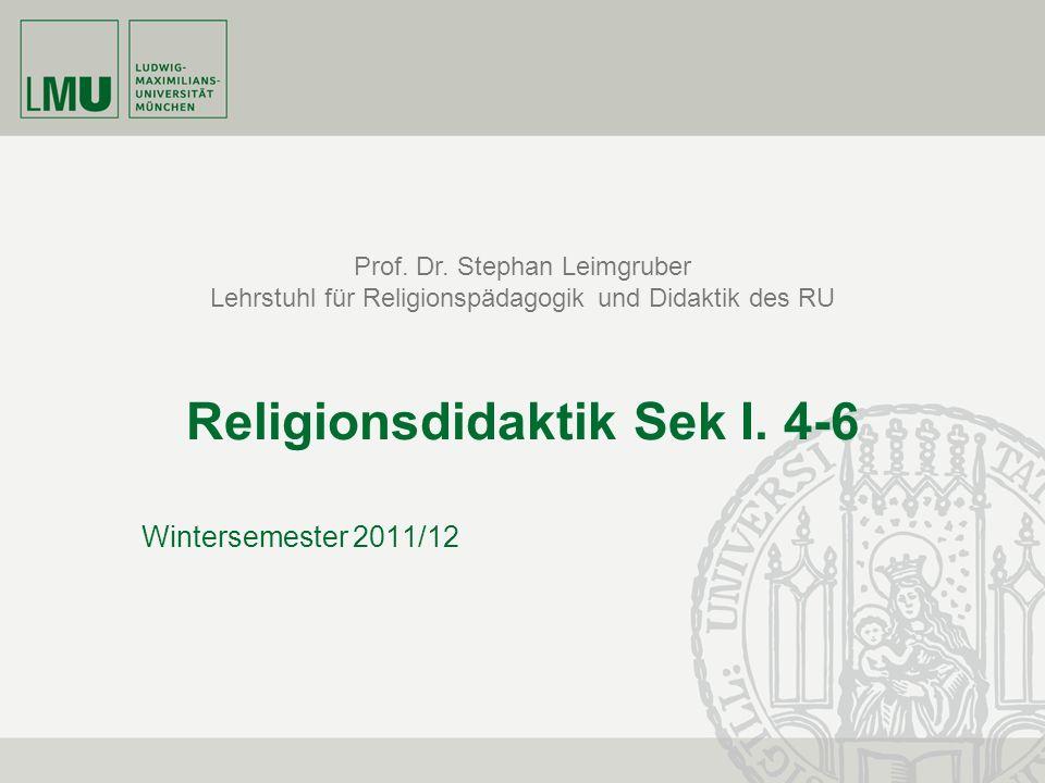 Religionsdidaktik Sek I. 4-6
