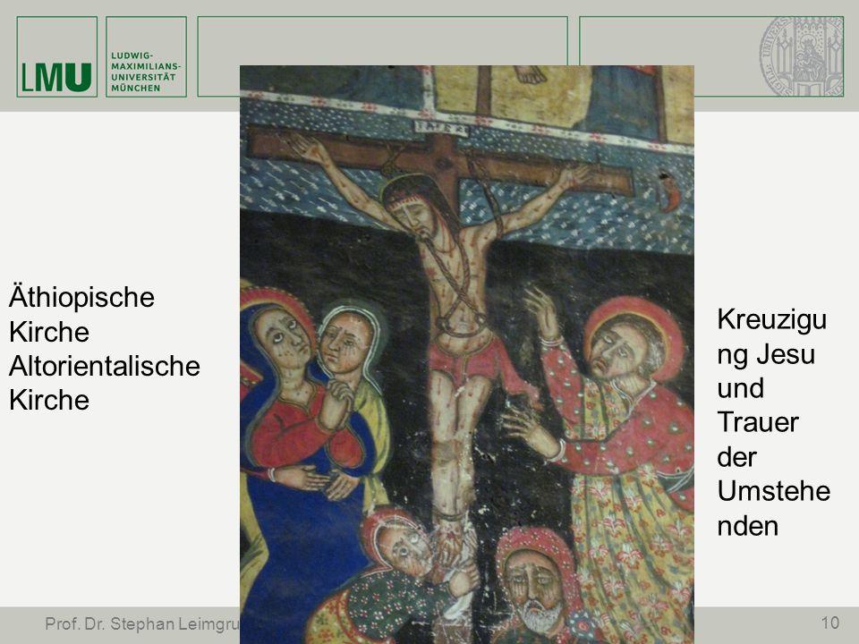 Kreuzigung Jesu und Trauer der Umstehenden Äthiopische Kirche
