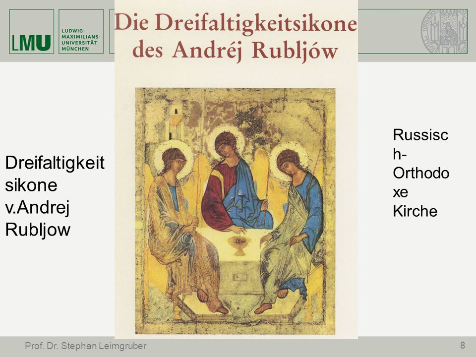 Dreifaltigkeitsikone v.Andrej Rubljow