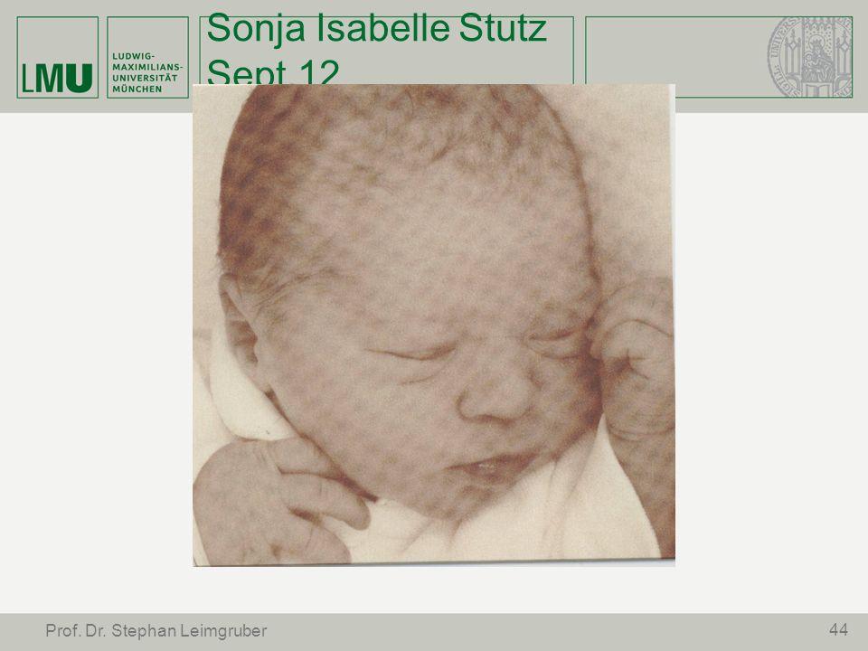 Sonja Isabelle Stutz Sept.12