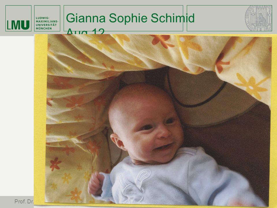 Gianna Sophie Schimid Aug 12