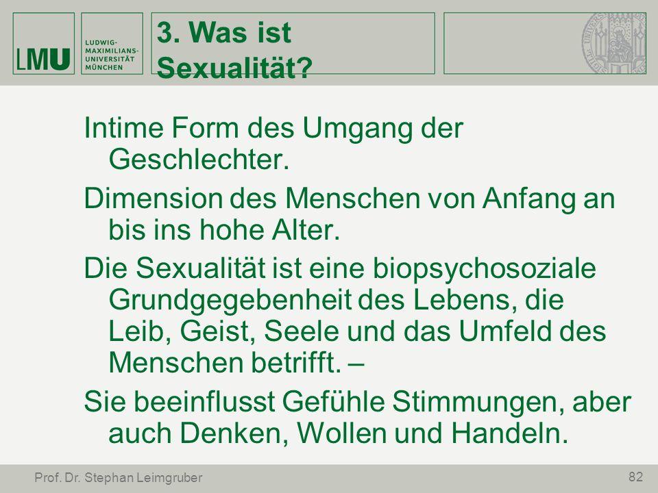 Intime Form des Umgang der Geschlechter.