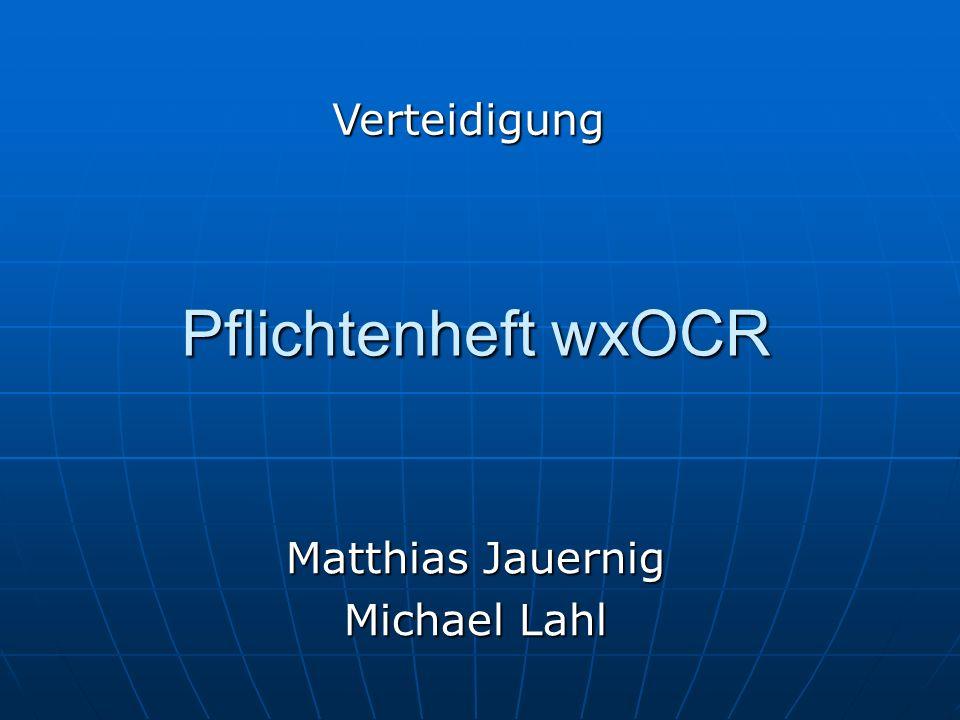 Matthias Jauernig Michael Lahl