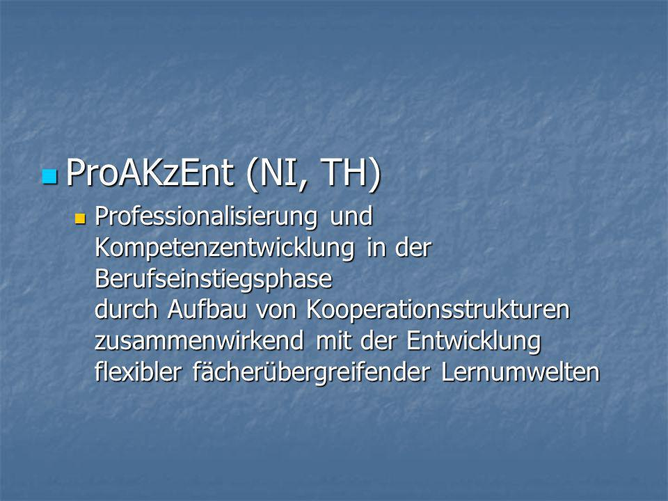 ProAKzEnt (NI, TH)