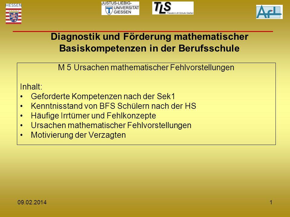 M 5 Ursachen mathematischer Fehlvorstellungen