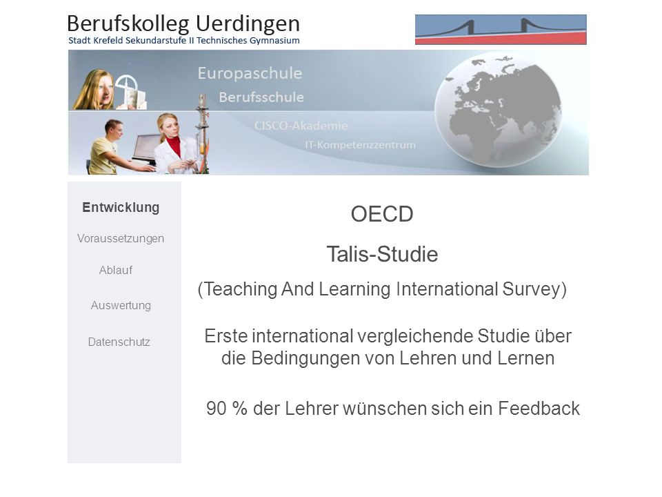 OECD Talis-Studie (Teaching And Learning International Survey)