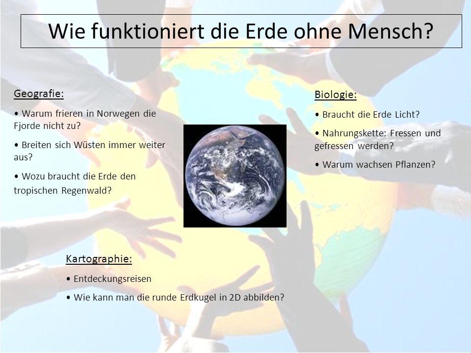 Wie funktioniert die Erde ohne Mensch