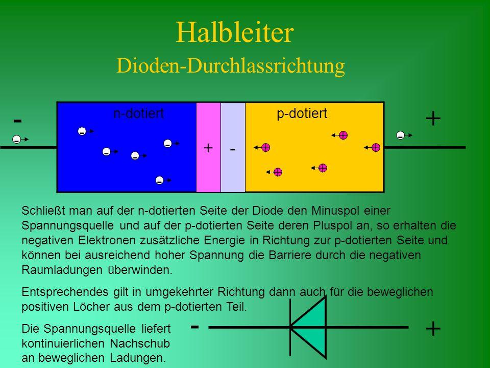 Dioden-Durchlassrichtung