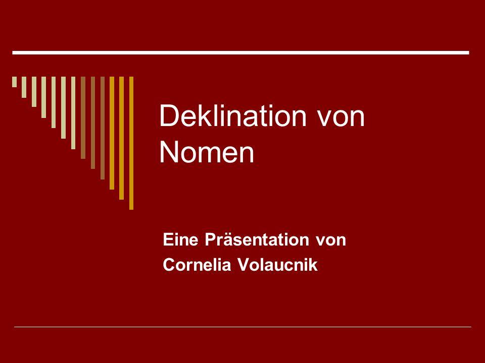 Eine Präsentation von Cornelia Volaucnik
