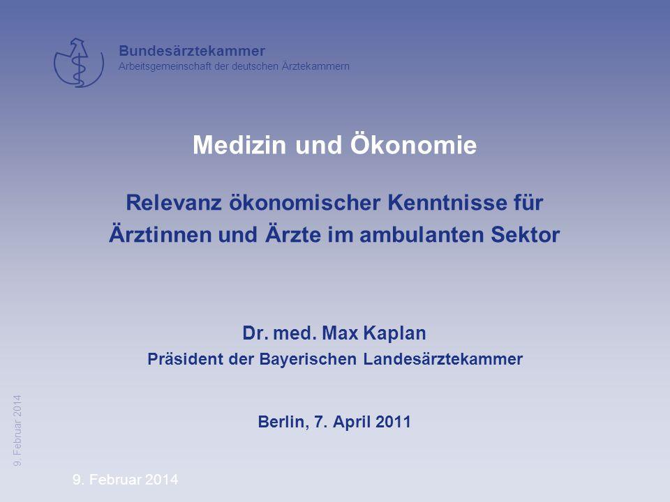 Präsident der Bayerischen Landesärztekammer