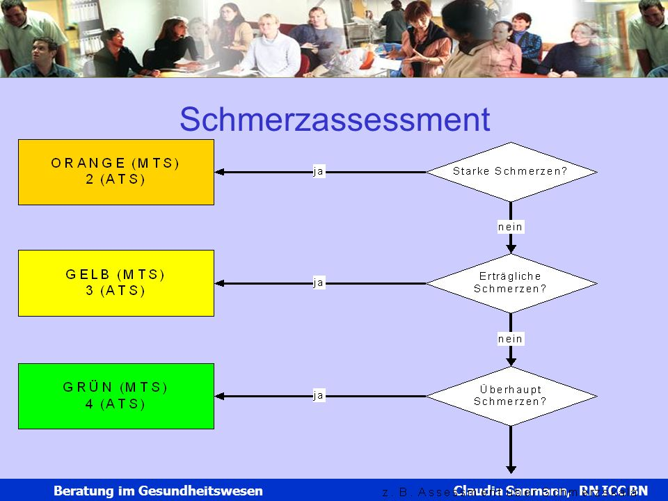 Schmerzassessment