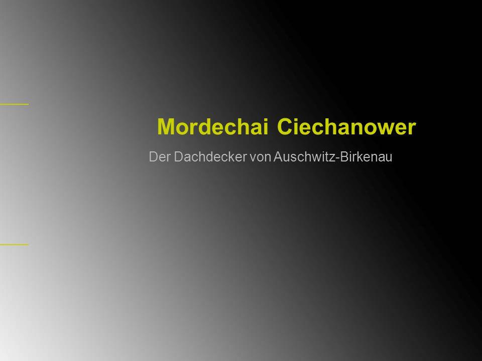 Mordechai Ciechanower