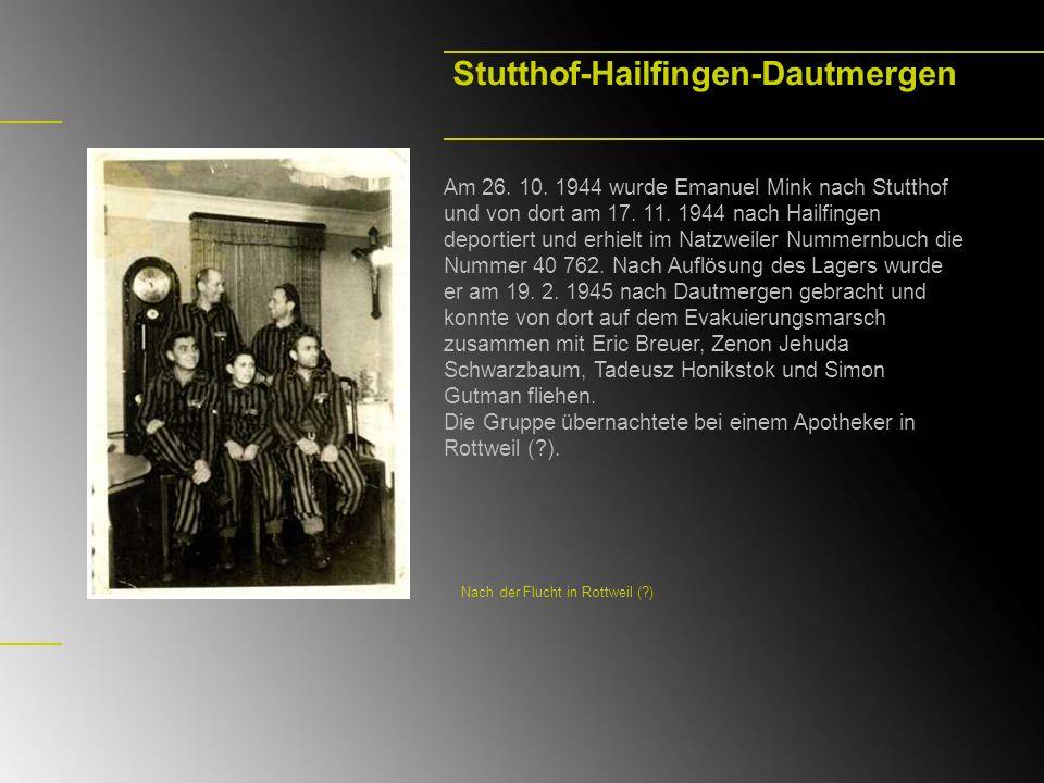 Stutthof-Hailfingen-Dautmergen