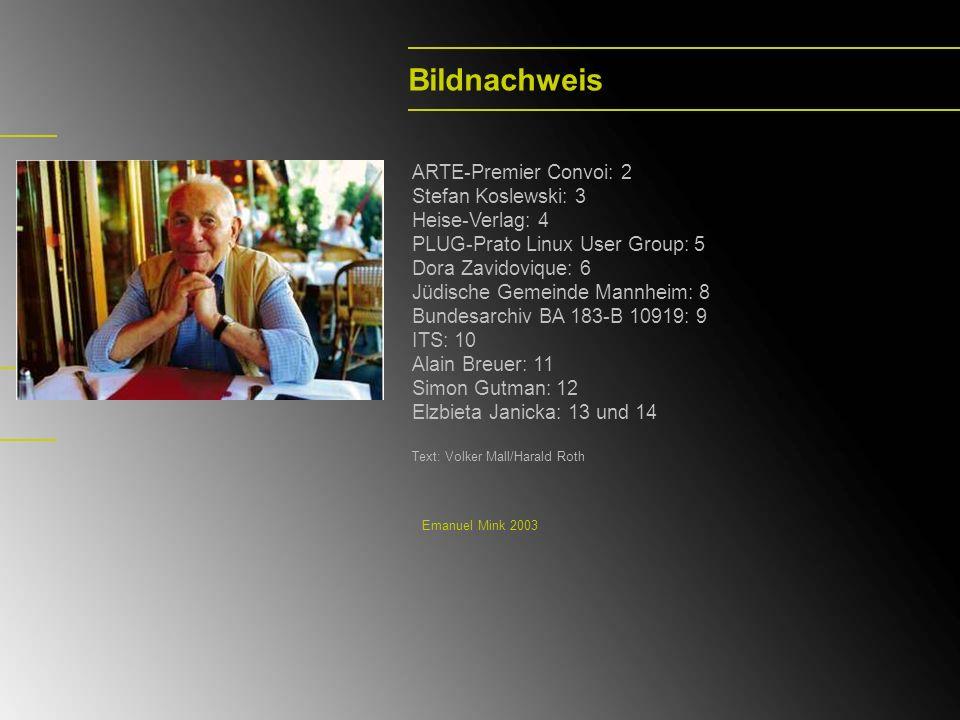 Bildnachweis ARTE-Premier Convoi: 2 Stefan Koslewski: 3