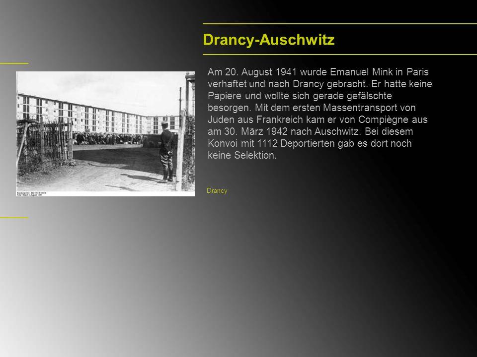Drancy-Auschwitz
