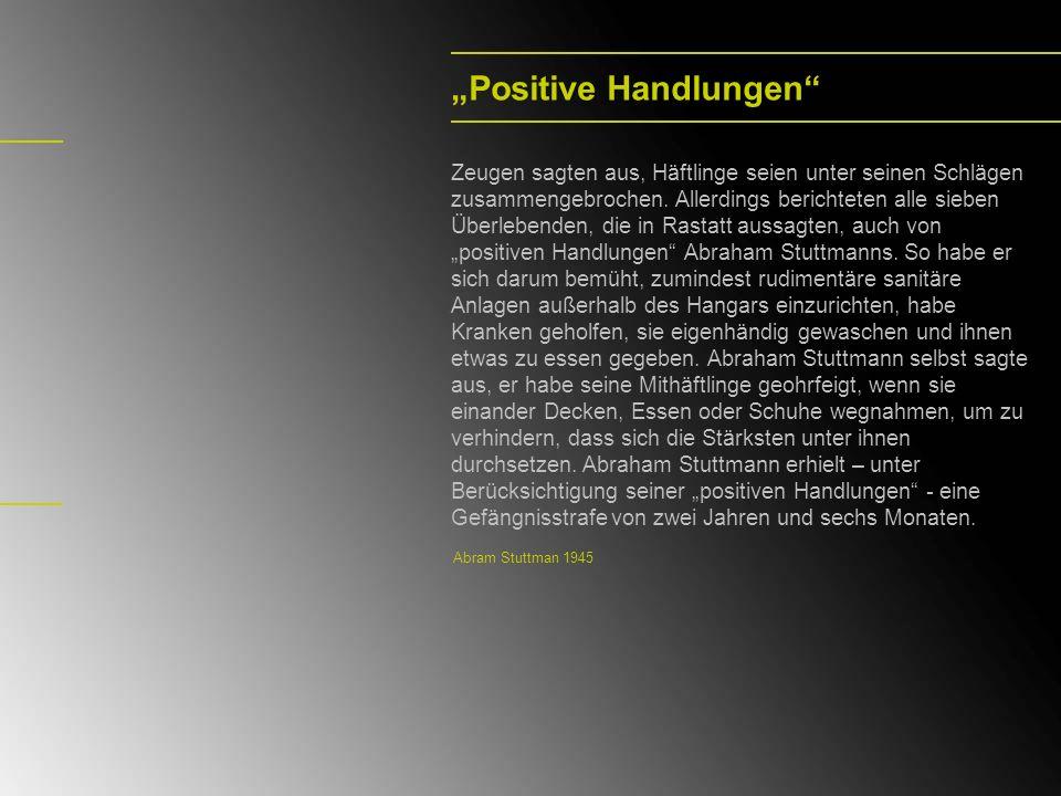"""""""Positive Handlungen"""