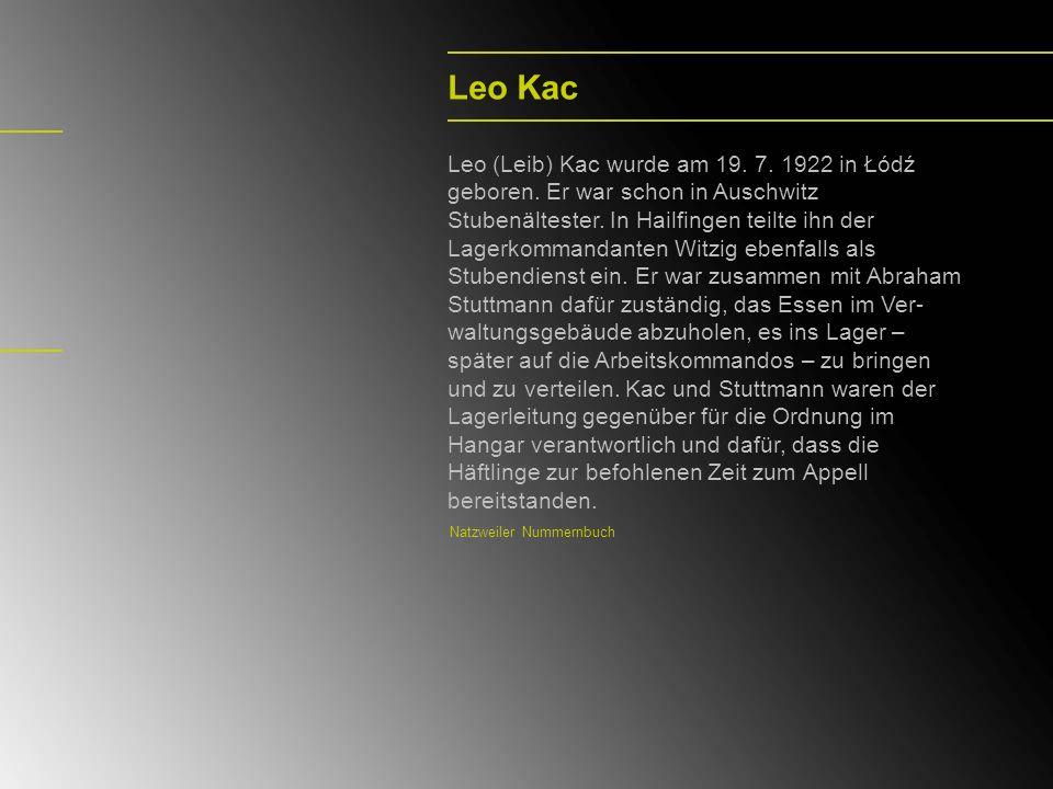 Leo Kac