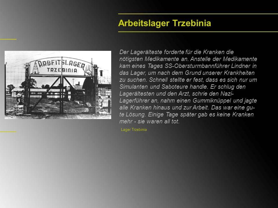 Arbeitslager Trzebinia