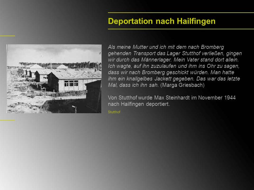 Deportation nach Hailfingen