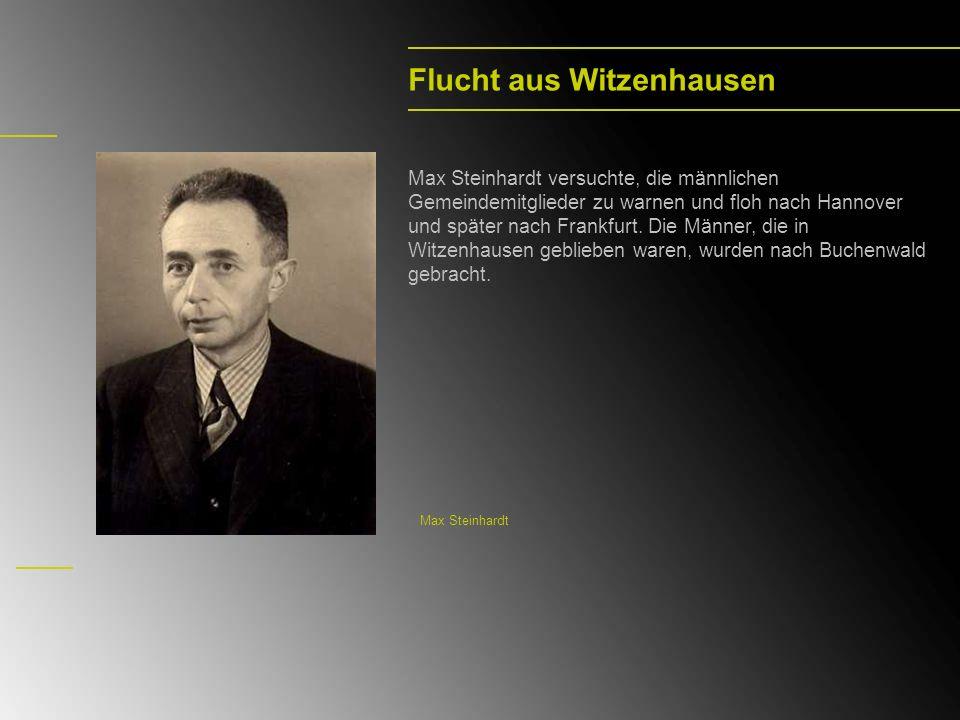 Flucht aus Witzenhausen