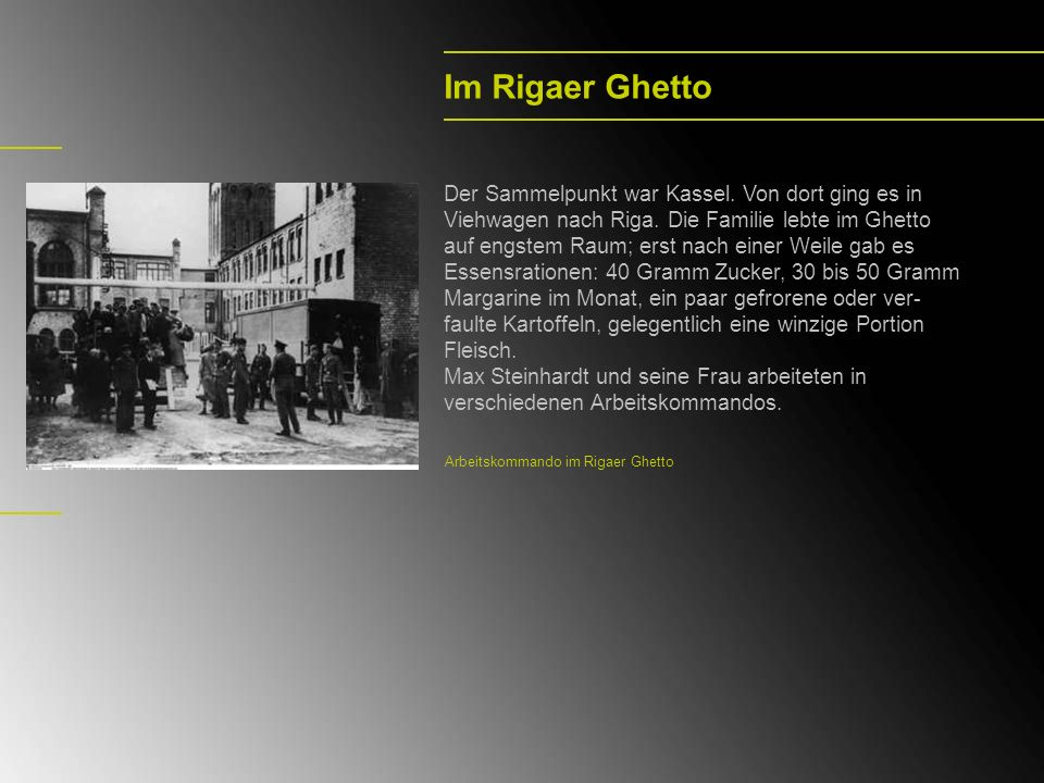 Im Rigaer Ghetto