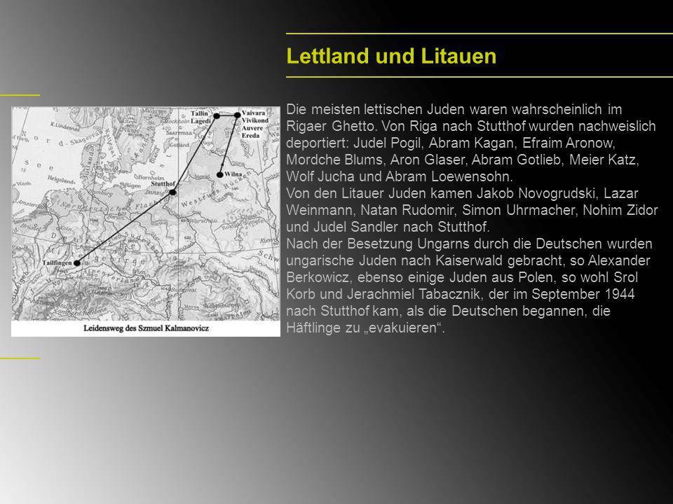 Lettland und Litauen