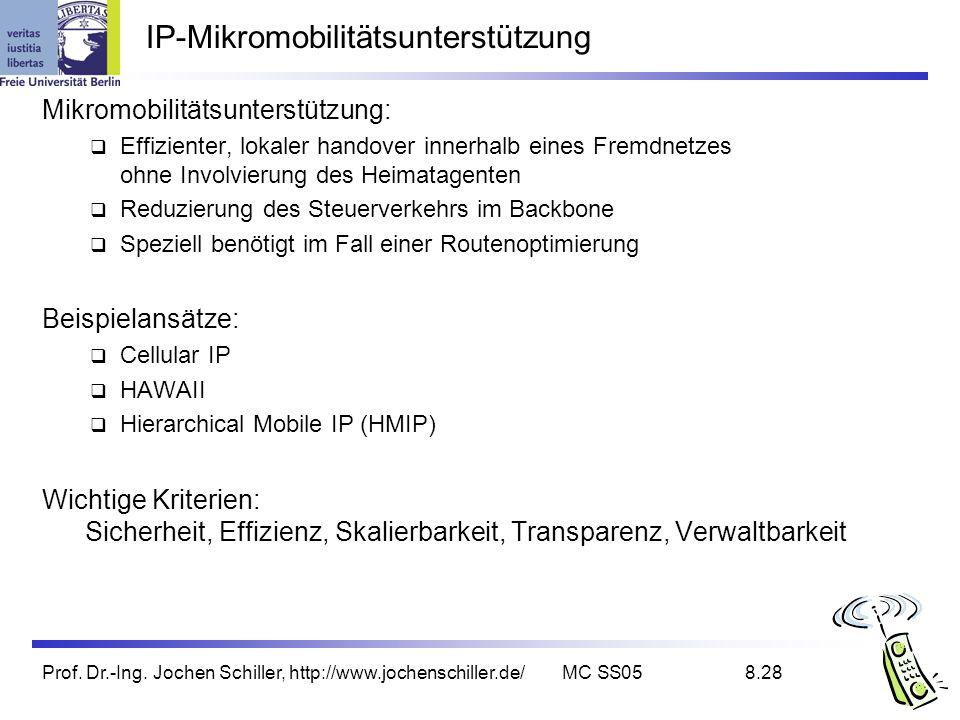 IP-Mikromobilitätsunterstützung