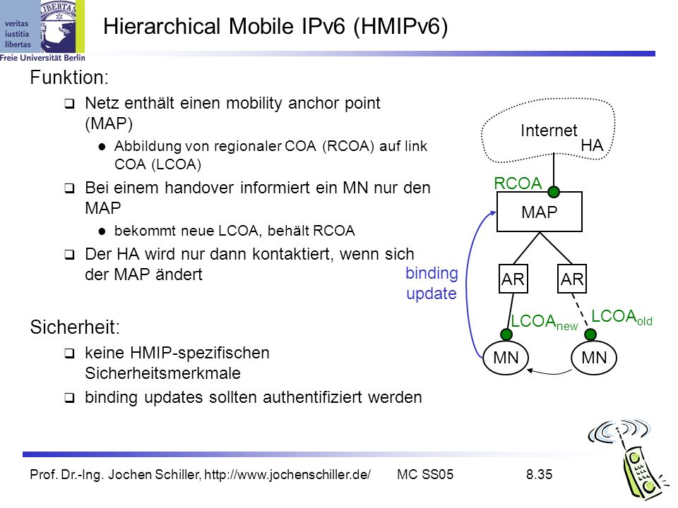 Hierarchical Mobile IPv6 (HMIPv6)