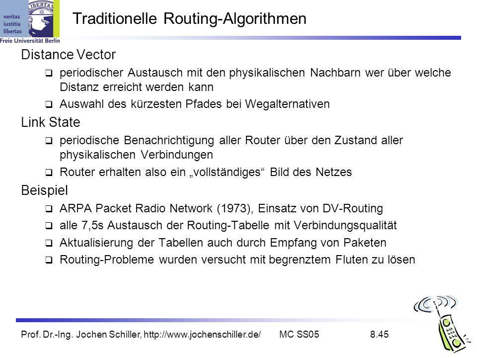 Traditionelle Routing-Algorithmen